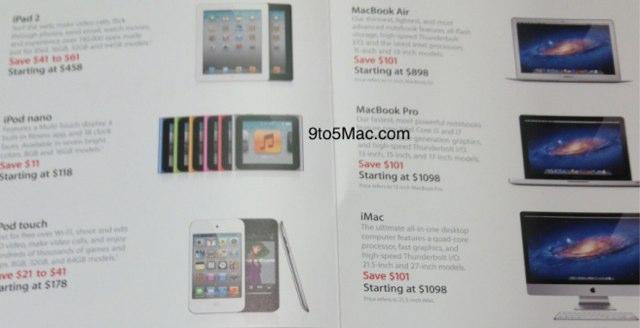 скидки от Apple к Чёрной Пятнице