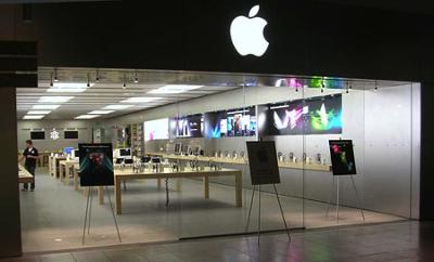 Старушка и Apple Store