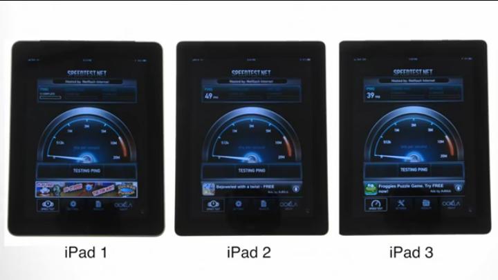 speedtest ipad3