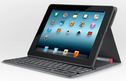 Logitech представляет клавиатуру для iPad на солнечных батареях