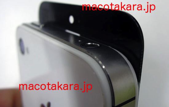 Сравнение лицевых панелей нового iPhone и iPhone 4S
