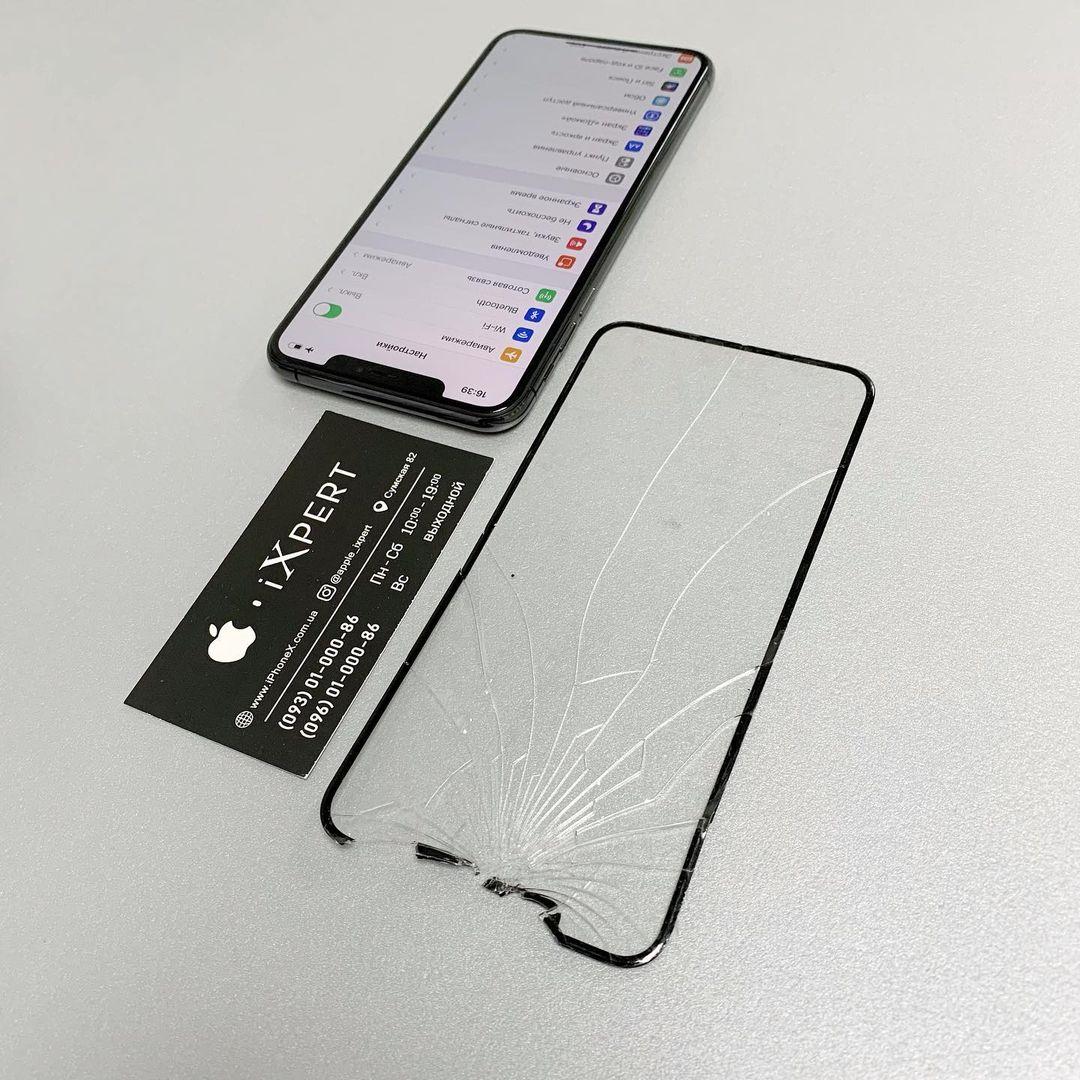 Замена стекла на iPhone в Харькове