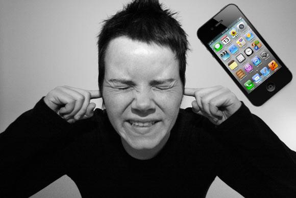 Звук iPhone4S