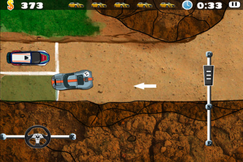 Desert Rally Parking