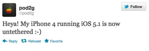 Непривязанный джейлбрейк на iOS 5.1