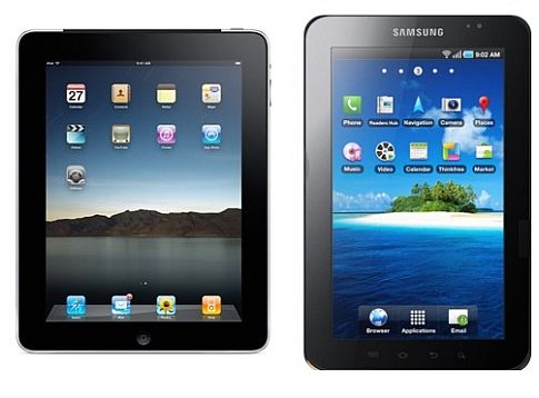 Apple требует запретить Galaxy Tab