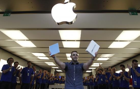 Успех iPad растёт