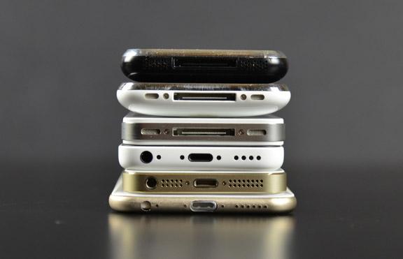 IPhone 6 Vs 5s 5c 5 4S 4 3GS 3G 2G