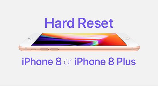 Перезагрузка iPhone 8 PLus